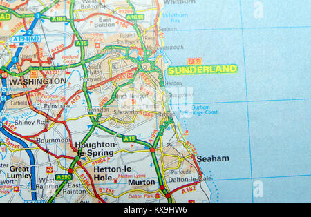 Sunderland north east England United Kingdom 2nd Nov 2017 Stock