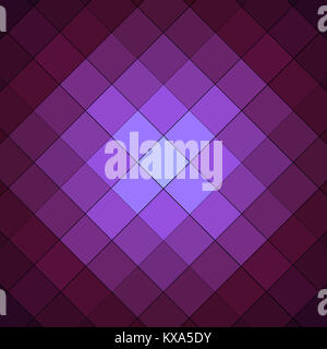 purle and pink checkered background pattern - Stock Photo