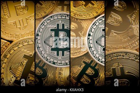 Symbol Image Turbulence Stock Market Crash Digital Currency Silver