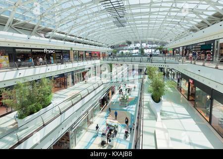 Centro Vasco da Gama, shopping mall, Parque das Nacoes, Lisbon, Portugal - Stock Photo