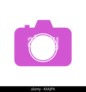 SLR camera ,Photo camera illustration - Stock Photo