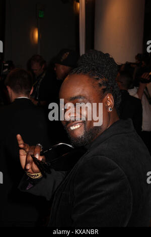 Beverly Hills, California, USA. 7th Jan, 2018. Wale 01/07/2018 The 75th Annual Golden Globe Awards HBO After Party - Stock Photo