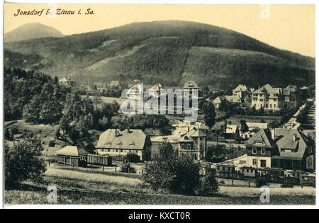 21323-Jonsdorf-1919-Blick auf Jonsdorf-Brück & Sohn Kunstverlag - Stock Photo
