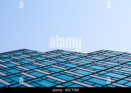windows abstract pattern of a futuristic skyscraper, wallpaper and background Stock Photo