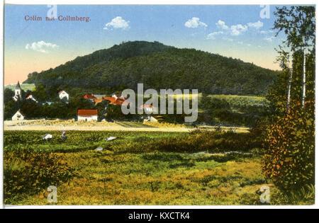 21682-Collm-1920-mit Collmberg-Brück & Sohn Kunstverlag - Stock Photo