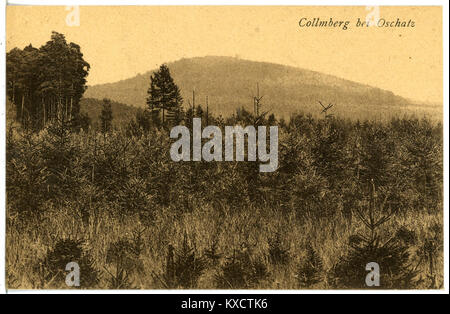 21683-Collm-1920-mit Collmberg-Brück & Sohn Kunstverlag - Stock Photo