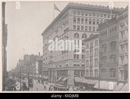 Main Street, Buffalo, N.Y. - Stock Photo