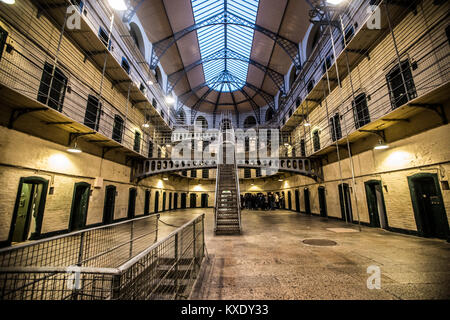 Kilmainham Gaol, former prison in Kilmainham, Dublin, Ireland - Stock Photo