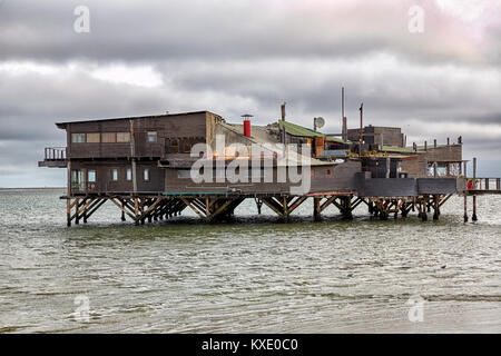 Raft Restaurant, Walvis Bay, Namibia, Africa - Stock Photo