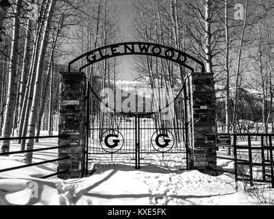 Park City - Utah - Stock Photo