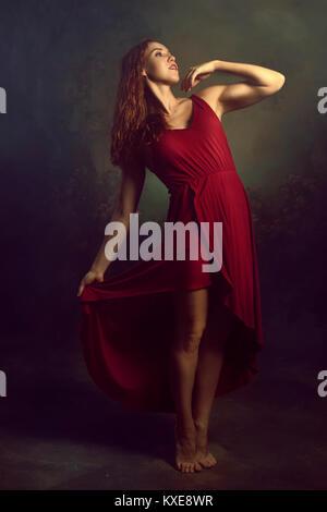 Young woman dancer ballerina - Stock Photo