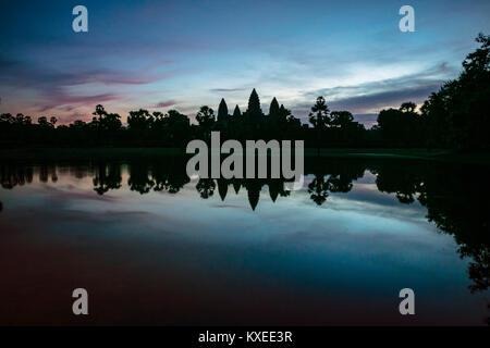 Sunrise, Angor Wat, Cambodia.