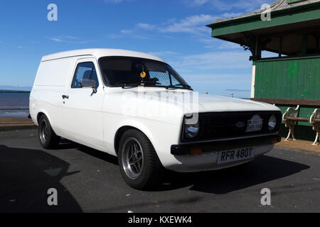 Ford Escort Mark 2 Van - Stock Photo