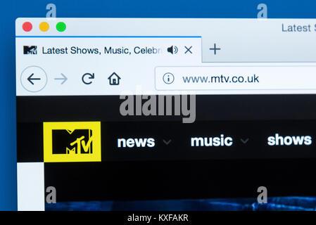 MTV logo Stock Photo: 209120544 - Alamy