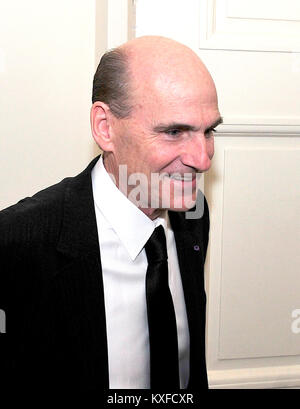 James Taylor arrives for a State Dinner in honor of Chancellor Angela Merkel of Germany at the White House in Washington, - Stock Photo