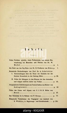 Abhandlungen der Naturhistorischen Gesellschaft zu Nürnberg BHL3366378 Stock Photo