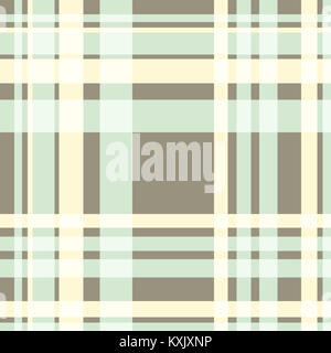 Pale cream and grey gingham pattern background - Stock Photo
