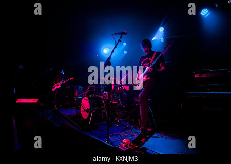 Cambridge, UK. 10th Jan, 2018. PAWS perform live at the Cambridge Junction supporting The Cribs. Credit: Richard - Stock Photo