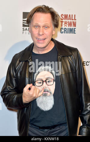 Los Angeles, USA. 10th Jan, 2018. Don Harvey attends the special screening of 'Small Town Crime' at Vista Theatre - Stock Photo