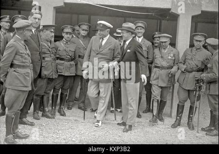 El general Miguel Primo de Rivera en San Sebastián (1 de 15) - Fondo Car-Kutxa Fototeka - Stock Photo