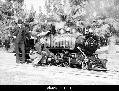 Eastlake Park Scenic Railway (photo by the Davis Siblings Collection) - Stock Photo
