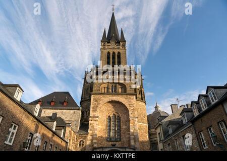 Aachener Dom, Aachen, Nordrhein-Westfalen, Deutschland |  Aachen Cathedral, Aachen , North Rhine-Westphalia, Germany, - Stock Photo