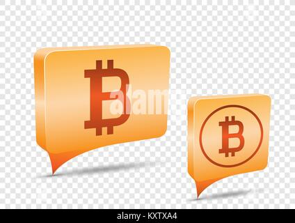 Low Poly Mining Farm Bitcoin Price Tag Transparent Background