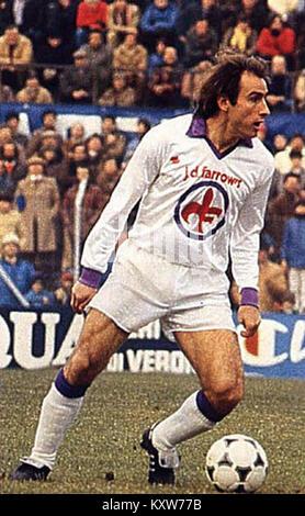 Francesco Graziani, Fiorentina - Stock Photo