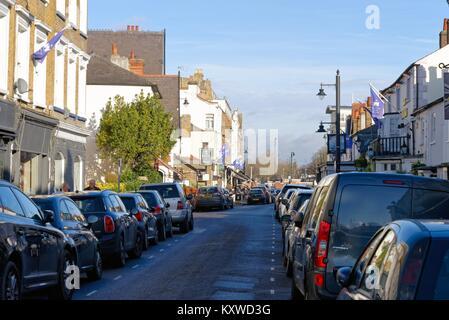 Bridge Road East Molesey Surrey England UK - Stock Photo