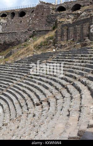 The Hellenistic Theater in Pergamon - Stock Photo