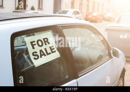 a for sale sign on a rusty antique classic old car in a field in stock photo royalty free image. Black Bedroom Furniture Sets. Home Design Ideas