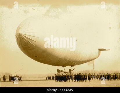 T.C. Army airship - Stock Photo
