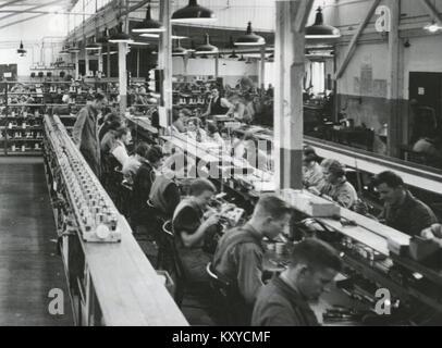 Gylling Stadsgården 1940-tal - Stock Photo