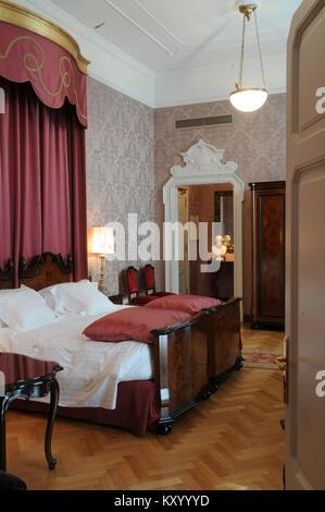 ... Bedroom Suite, Grand Hotel Et Milan, Verdi, 2013, Milan, Italy.