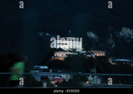 Festung Kufstein (Kufstein Fortress) in Kufstein, Tyrol, Austria. 8 August 2016 © Wojciech Strozyk / Alamy Stock - Stock Photo