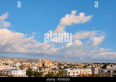 Agioi Anargyroi Church in Pafos, Cyprus - Stock Photo