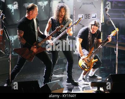 Metalica  Madison Square Garden 10/30/09 photo Michael Brito - Stock Photo