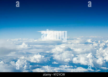 Africa, An Anvil Cloud - Stock Photo