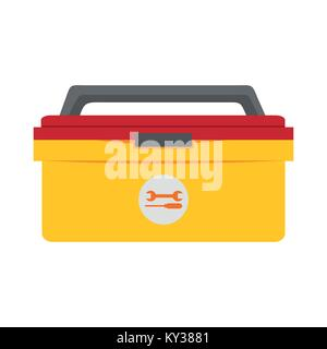 Simple Tool Box Storage Drawing Vector Illustration Graphic Design - Stock Photo