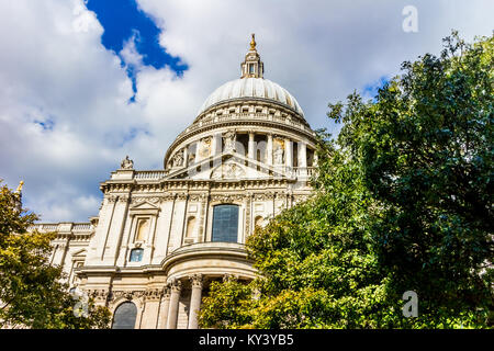 St Paul's Cathedral, London. - Stock Photo