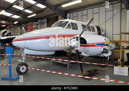 Northbrook College further education training at Shoreham-by-Sea in West Sussex. Brighton City Airport. G-AWKX  - Stock Photo