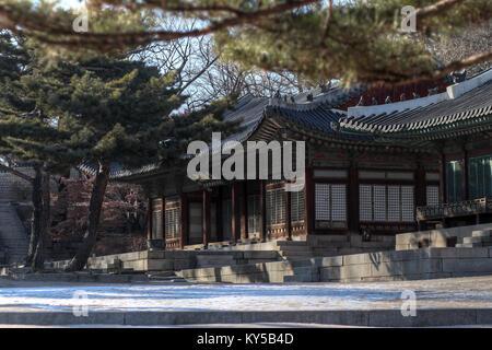 Changyeonggung in Seoul, Korea - Stock Photo