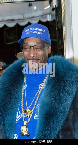 Los Angeles, USA. 12th Jan, 2018. Snoop Dogg attends Joyrich x Snoop Dogg Capsule Collection celebration at Joyrich - Stock Photo