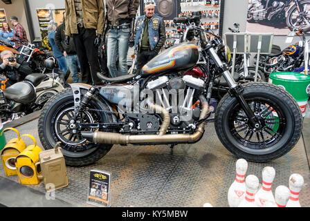 Uppingham, Oakham 13th January 2018 : Harley-Davidson's annual ...