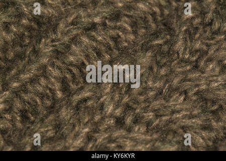 Macro color image of knitted texture. - Stock Photo