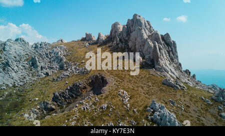 Tulove Grede, Velebit Mountain, Croatia - Stock Photo