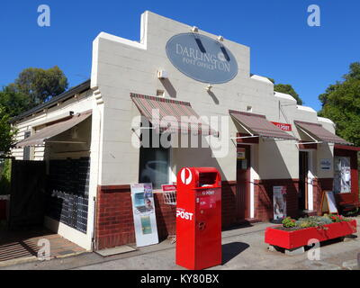 The historic Darlington Post Office established in 1908 in a suburb of Perth, Western Australia - Stock Photo