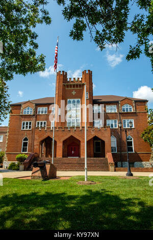 Lantz Hall, Massanutten Military Academy, 614 South Main Street, Woodstock, Virginia - Stock Photo