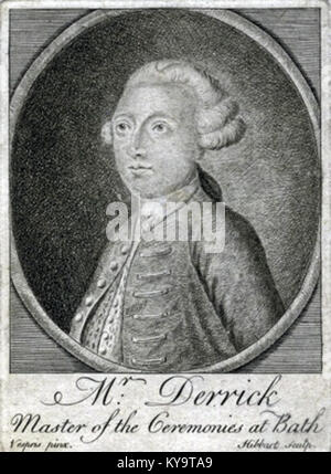 Samuel Derrick, Master of the Ceremonies at Bath - Stock Photo
