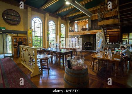 Lou Miranda Estate Winery in the renowned wine region of Barossa Valley, South Australia, Australia - Stock Photo
